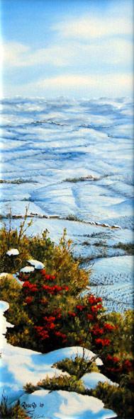 Nevicata_sulle_vigne_delle_Langhe_-_olio_su_tela_20x60